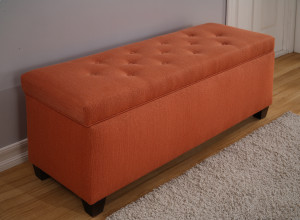 pumpkin shoe bench