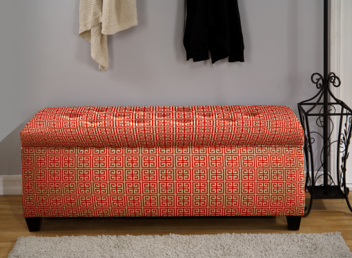 easy to close shoe storage bench