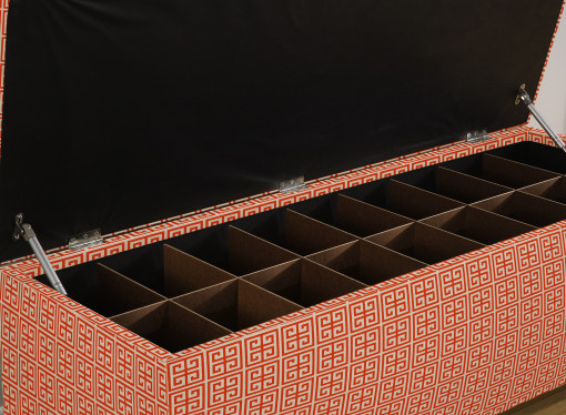 secret shoe storage bench