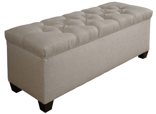 diamond tufted shoe storage bench