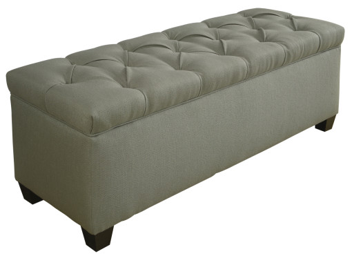 tufted shoe bench for the house