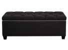 dark shoe storage bench